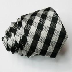 Kšandy a kravata černá souprava Assante 501