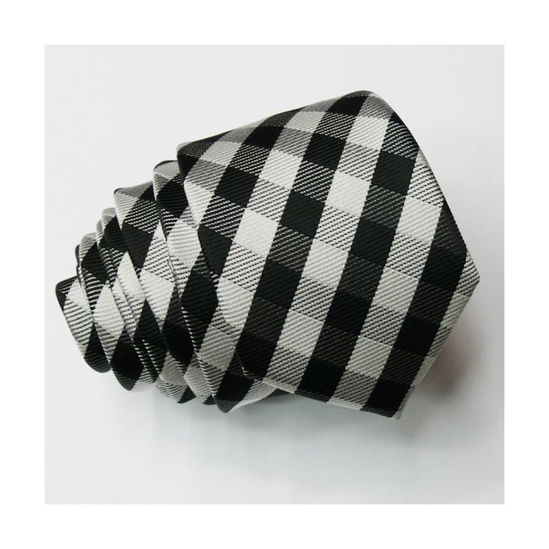 Kšandy a kravata černá souprava Assante 501, Velikost Uni