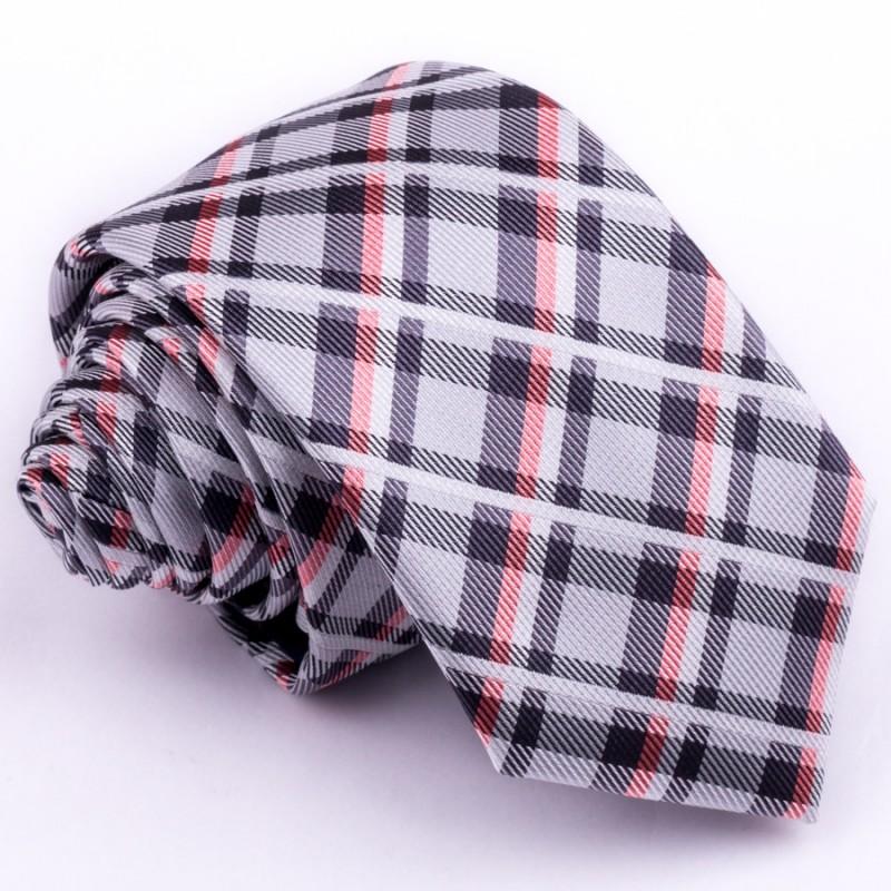 Kšandy a kravata červená souprava Assante 503, Velikost Uni