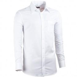 Bílá nadměrná košile pánská rovná bílá Assante 31014