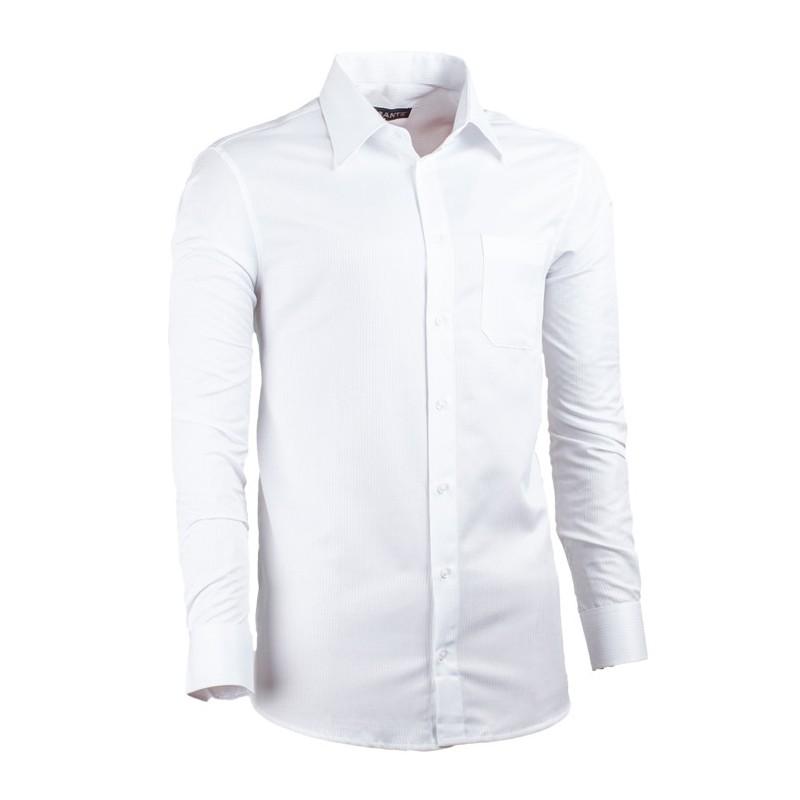 bdf7ef5c534 Bílá nadměrná košile pánská rovná bílá Assante 31014