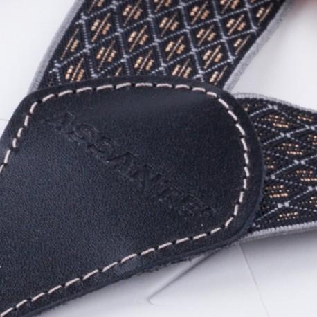 Fialový ozdobný kapesníček do saka Assante 90636