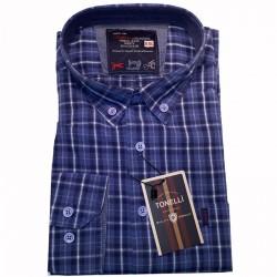 Modrá pánské košile Tonelli 110935