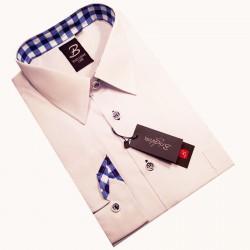 Slim kravata červená Greg 93166