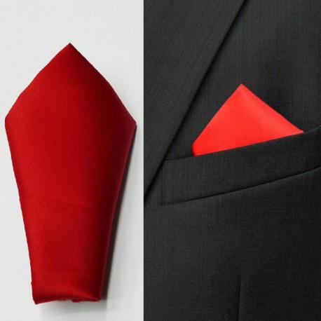 Červený kapesníček do saka Assante 90644