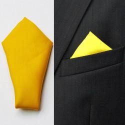 Žlutý kapesníček do saka Assante 90641