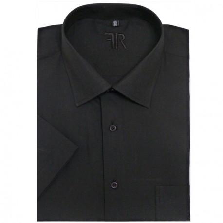 Prodloužená košile zelená slim fit Assante 20502