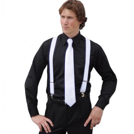 Košile na manžetový knoflíček modrá Assante 30429