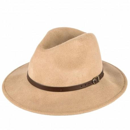 7d05cb14b6b Černý pánský tvrdý klobouk Homburg Assante 85029