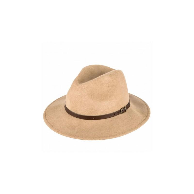 Černý pánský tvrdý klobouk Homburg Assante 85029, Velikost 59
