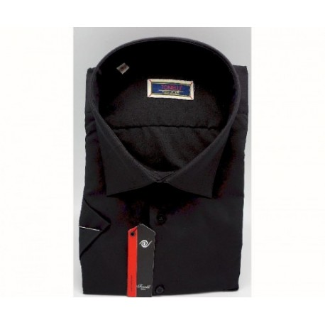 Prodloužená košile slim pánská bílá Aramgad 20000
