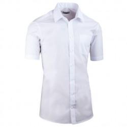 Bílá pánská košile vypasovaná Aramgad 40030