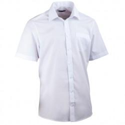 Bílá košile rovná pánská Aramgad 40031