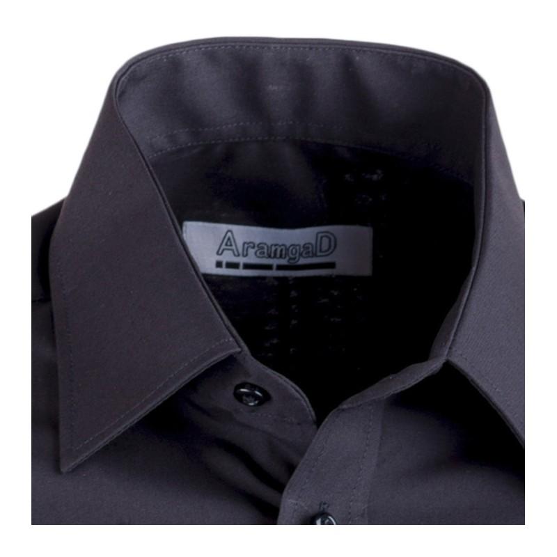 Černé pánské společenské kalhoty Assante 60501, Velikost 86