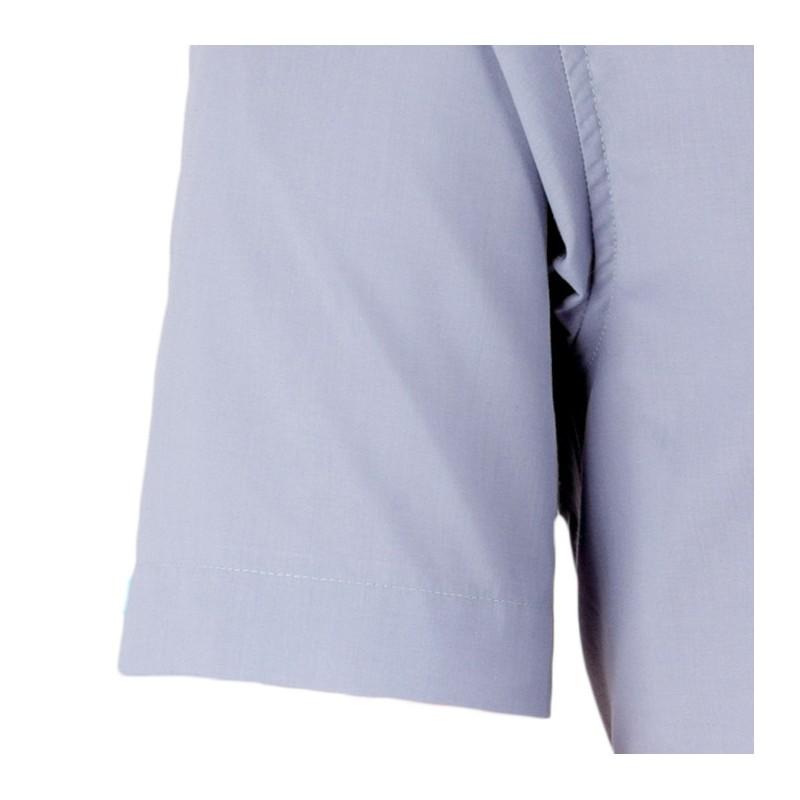 Prodloužené pánské společenské kalhoty šedé Assante 60512, Velikost 86