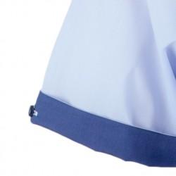Červená kravata modré čtverečky Greg 93198
