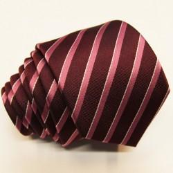 Tmavě hnědá kravata Greg 92892