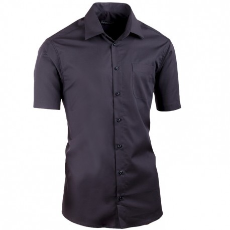 Černá košile slim fit Assante 40115
