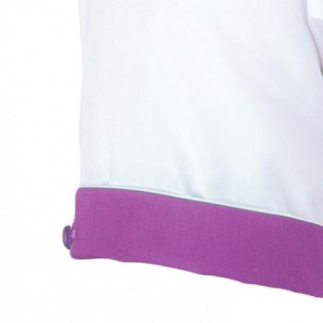 Pánská svatební košile bílá vypasovaná Aramgad 30045
