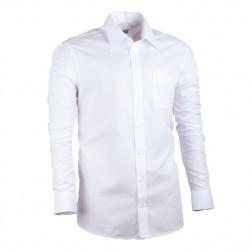 Prodloužená košile regular bílá Assante 20004