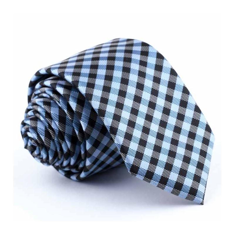 Modrozelená pánská košile s krátkým rukávem rovný střih Brighton 109988, Velikost 41/42 (L)