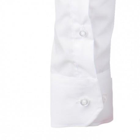 7910add55ad Pánská košile s krátkým rukávem bílá 100% bavlna Native 40706