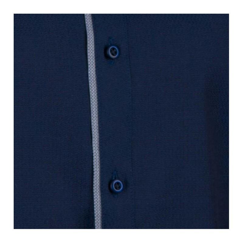 Modrá pánská košile dlouhý rukáv s podšitým límcem Brighton 109991, Velikost 41/42 (L)