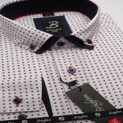 Nadměrná košile 100 % bavlny modrá Assante 31099