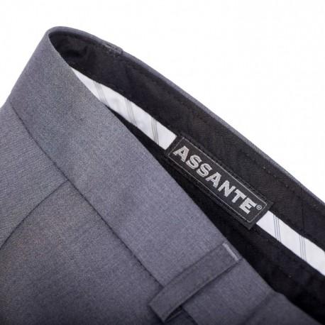 Švestkově modrá pánská košile 100% bavlna Assante 30488