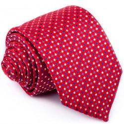 Červenošedá kravata Greg 93209