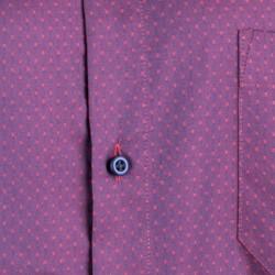 Modrá pánská košile dlouhý rukáv vypasovaný střih Native 120006