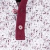 Modrobílá pánská košile vypasovaný střih Brighton 109813