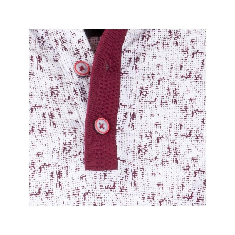 Modrobílá pánská košile vypasovaný střih Brighton 109813, Velikost 39/40 (M)