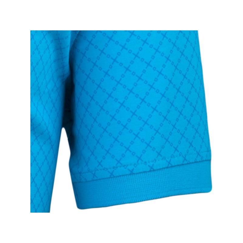 Modrobílá pánská košile vypasovaný střih Brighton 109814, Velikost 39/40 (M)