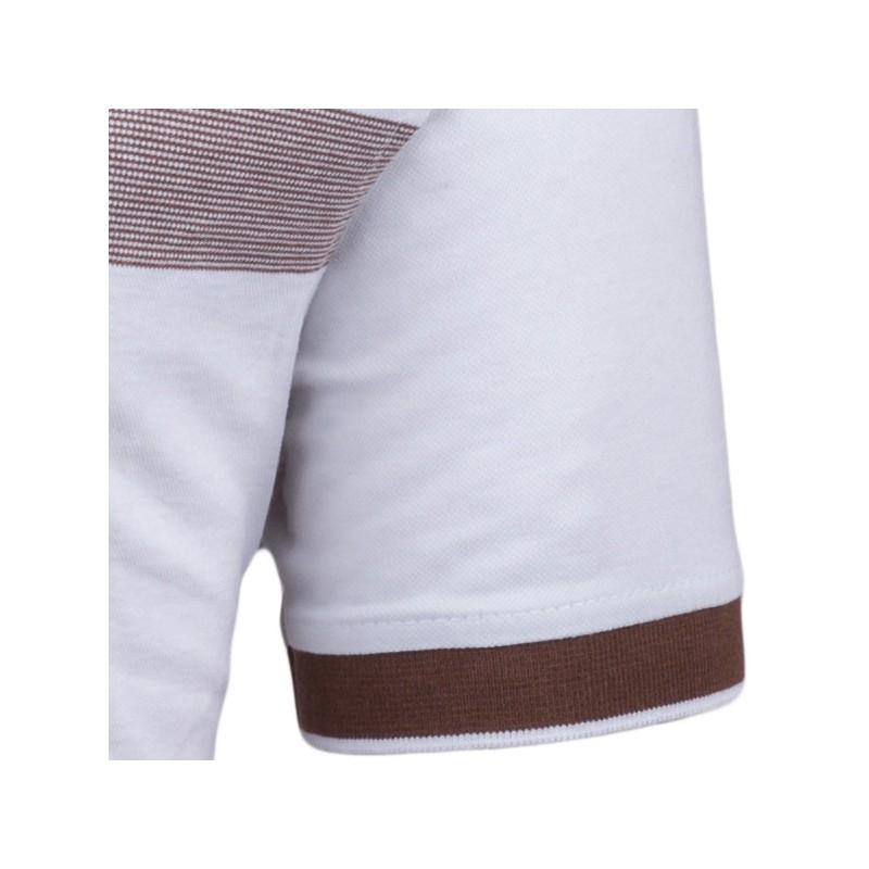 Modrobílá pánská košile vypasovaný střih Brighton 109817, Velikost 39/40 (M)