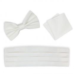 Svatební kravata smetanová - Anglická regata Assante 90673