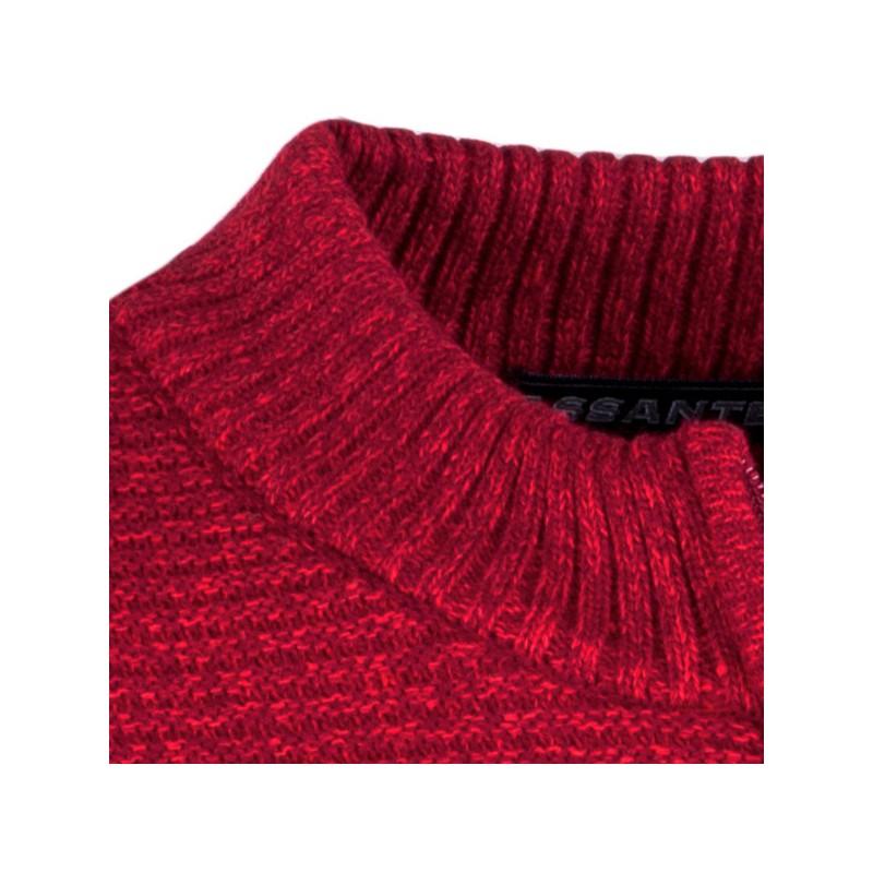 Tmavomodrá pánská košile krátký rukáv vypasovaný střih Brighton 109820, Velikost 39/40 (M)