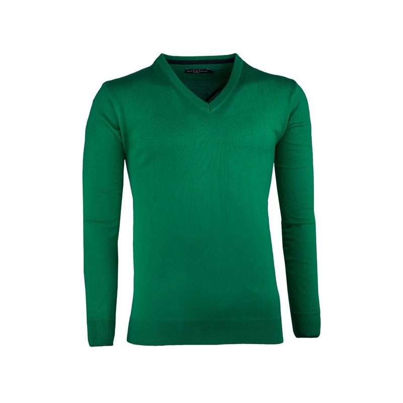 Bílá s modrým vzorem pánská košile slim fit Brighton 109908, Velikost 41/42 (L)