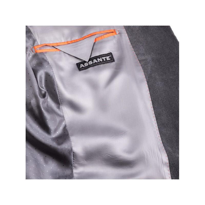 Bílý pánský nátělník 100 % bavlna Vasil Assante 50001, Velikost S