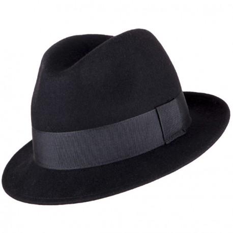 Pánský černý klobouk Assante 85032