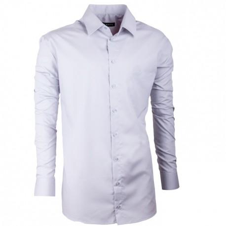 Pánská košile slim v barvě holubí šedi 100% bavlna non iron Assante 30186