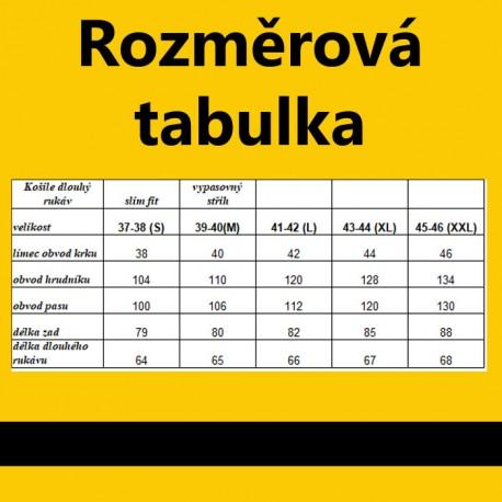 Černobílá 100 % bavlna nadměrná košile Tonelli 110958