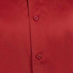Červenomodré káro 100 % bavlna nadměrná košile Tonelli 110962