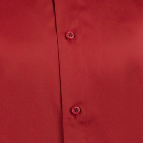 6ebc6370ff7 Červenomodré káro 100 % bavlna nadměrná košile Tonelli 110962