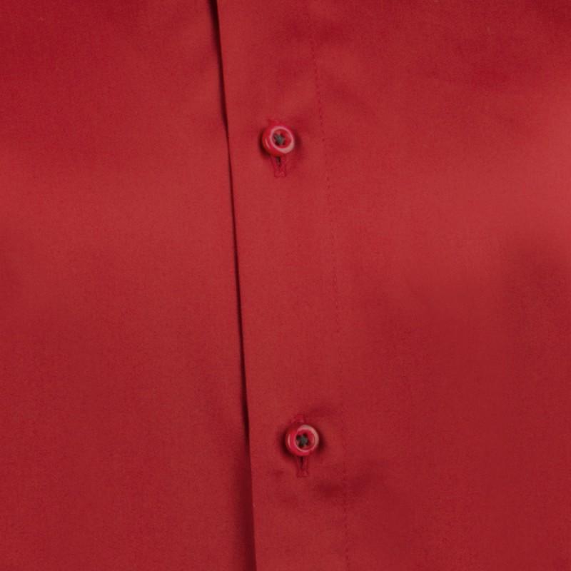 Červenomodré káro 100 % bavlna nadměrná košile Tonelli 110962 fba5763c2b