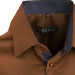 Šedomodrá kostka košile Tonelli 110968