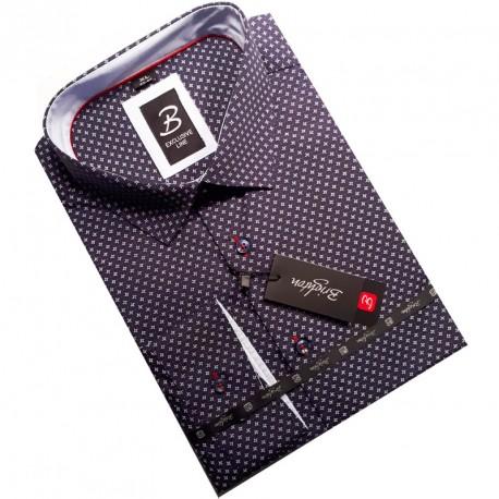 Souprava kšandy kravata černá 505