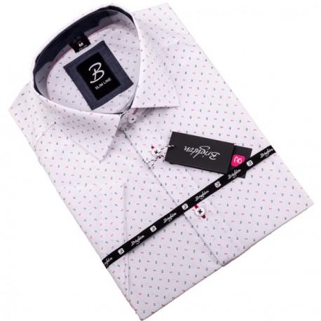 Košile Brighton bílomodrá 109810