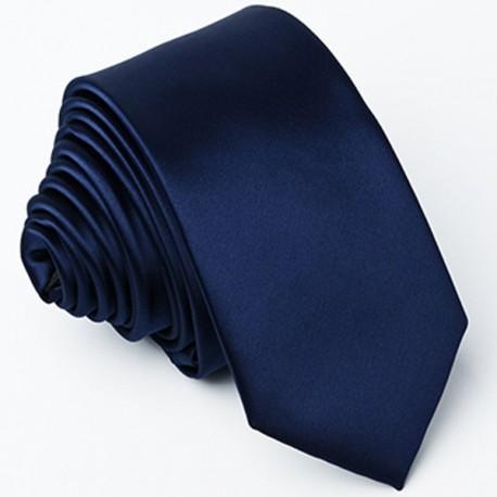 Slim kravata modrá Greg 99146