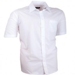 Nadměrná košile bílá 100 % bavlna non iron Assante 41012